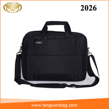 Custom made nylon computer shoulder bag business case 15.6 inch waterproof nylon briefcase
