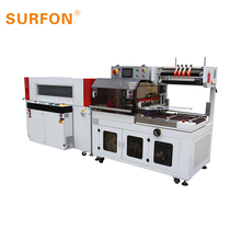 automatic heat shrink pof film book magazine side sealing packaging machinery with CE