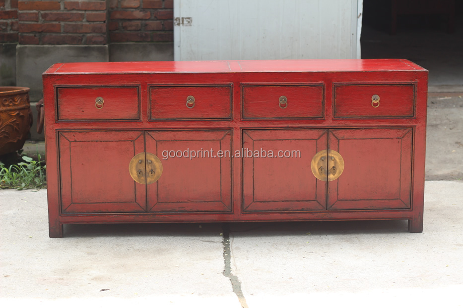 Antique chinese furniture tv sideboard buy antique for Reproduction oriental furniture
