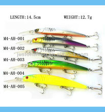 9+ years Wholesaler & OEM Manufacturer ,Hirun High quality fishing tackle hard plastic fishing lures