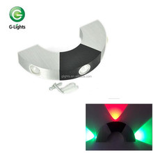 Modern design 3W indoor led wall lighting for disco, bar, hotel, etc