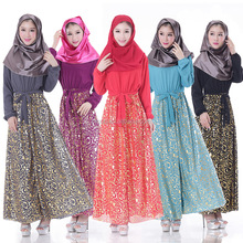 2016 Abaya Manufacturer China Alibaba Wholesale Islamic Products Floral Print Long Sleeves Import China Morocco 8016