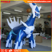 customized inflatable lugia model for adversting promotion replica/ inflatable lugia