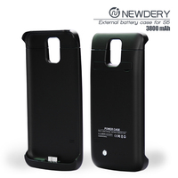 mobile power bank case extended battery case cover for samsung galaxy S5 cell phones smartphones