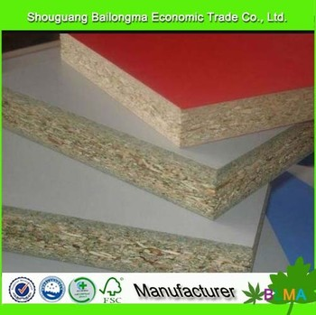 12mm melamine chipboard / particle board Indonesia for sell