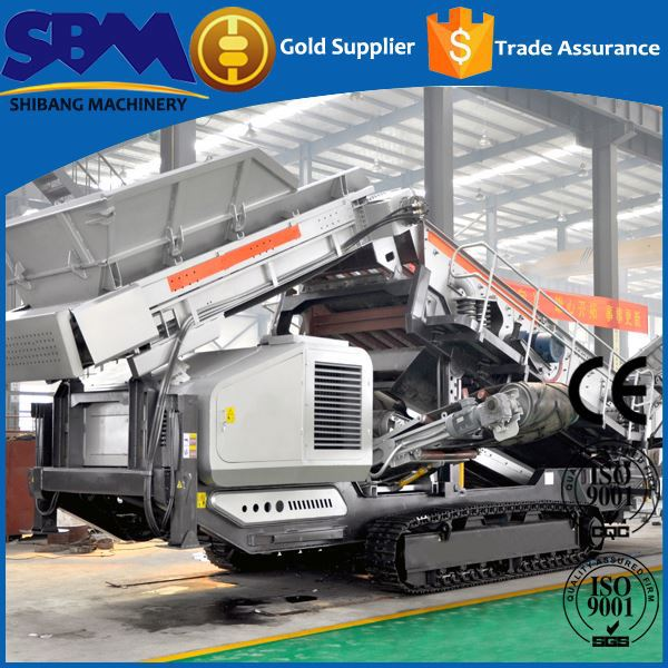 High safety bolivia hard rock mobile crushing plant for sale