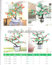 2013 New Design Peony Bosai Flower Tree||1.3m Various Color Flower Artificial led light tree