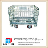 Ever great metal storage cages with wheels/pallets with wheels