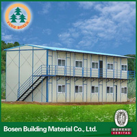 Earthquake Resistant Prefabricated Module House Modern