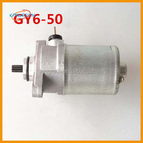 Motorcycle gy6 50 139QMB scooter 3 phase motor starter