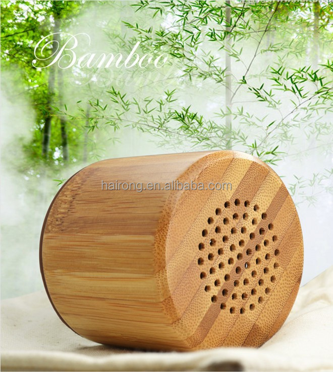 new product for 2016 bamboo mini bluetooth speaker mini <strong>portable</strong> bluetooth speaker wireless bluetooth speaker