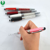 Metal Sparkling Crystal Stylus Pen for Tablet Screen Touch