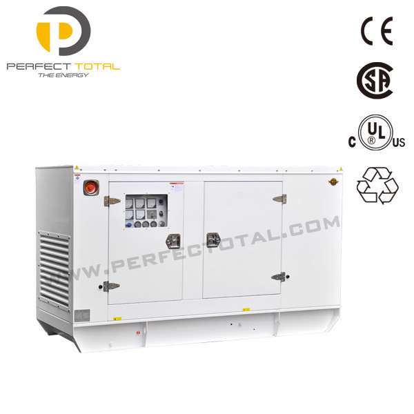 100kva soundproof water cooled genset with Cummins engine