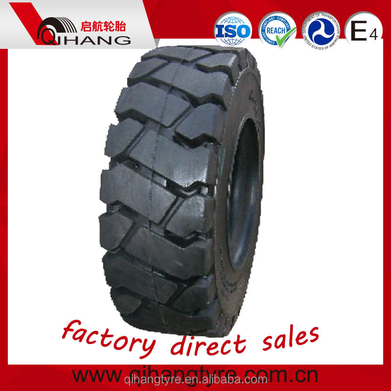 Factory wholesale price forklift tire 5.00-8 7.00-12 8.25-12 28x9-15 solid forklift tyre for sale
