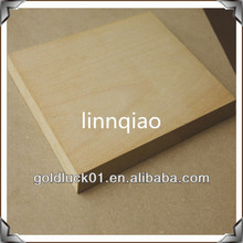 Heze cheap high quality maple veneered mdf