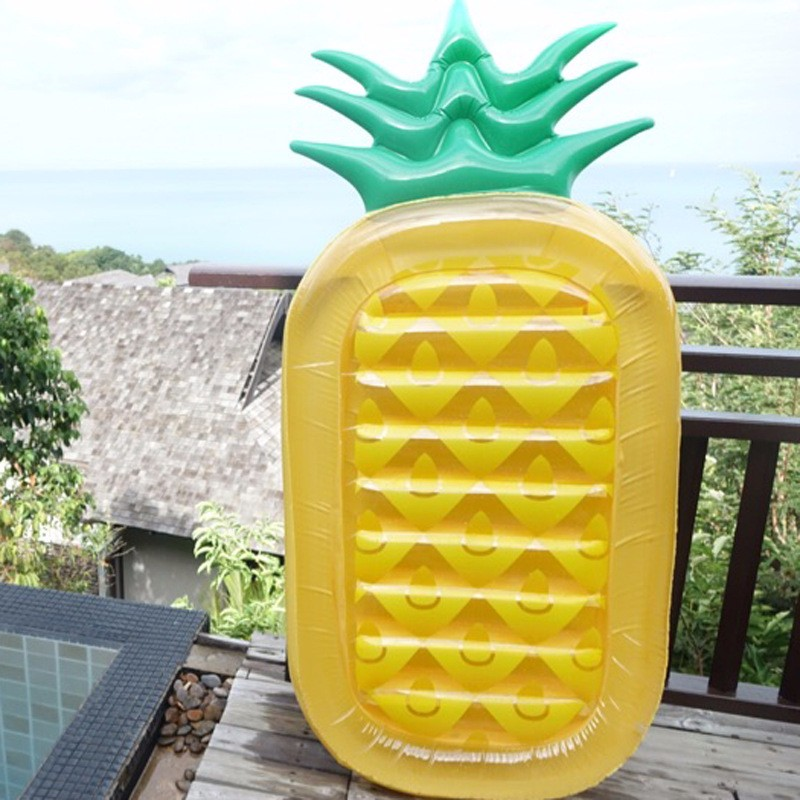 Inflatable Pool Toys Summer Pineapple Air Mattress Anana Float Water
