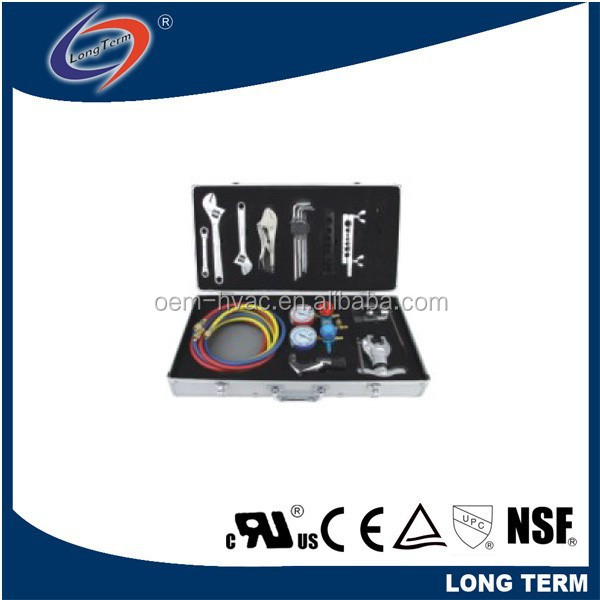 TOOL KIT FOR COMMERCIAL A/C MAINTENANCE AND REPAIR WORK