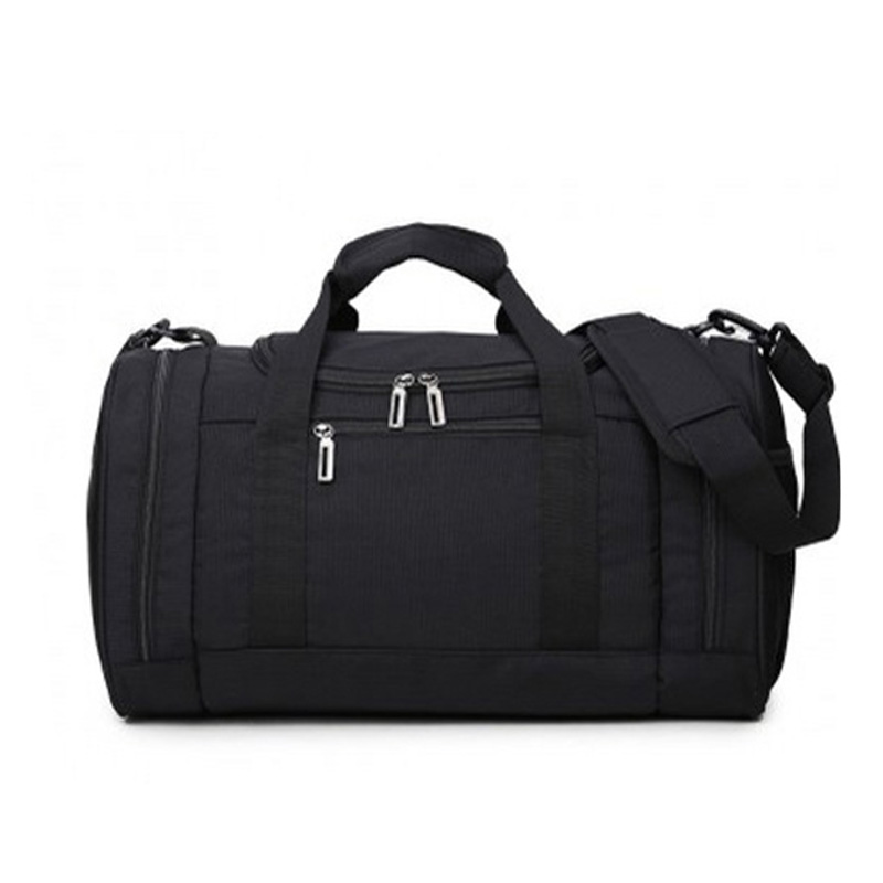 Famous Design Nylon Tote Bag Compartments Black Men Waterproof Shoulder Travelbag Wholesale