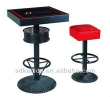 bar tables and stools for commercial