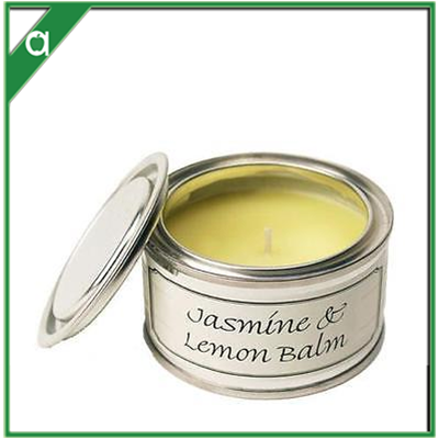Scented Candle in Tin - Jasmine Fragrance Birthday Wedding Return Gift