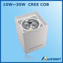 surface mount square 25w 6inch 150x150 mm IP40 CE ROHS ETL TUV SAA approved LED DOWNLIGHT