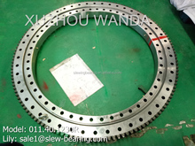 slewing bearing for excavator travel and swing reduction