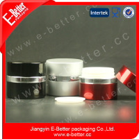 1oz high quality empty aluminum gel nail polish jar