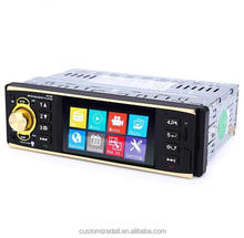 4.1 inch Vehicle-mounted MP5 Player Stereo Audio Car Video USB AUX FM Radio Station with Remote Control Bluetooth