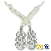 Baby Silver Genuine Leather Gladiator Sandals Spanish Baby Shoes Baby Summer Gladiator Sandals