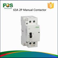 china factory 2 Pole Din Rail Mounted AC Contactor