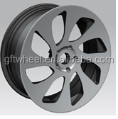 16-22 inch aluminum forged good quality wheel part