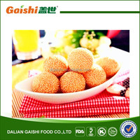 hot sale delicious Chinese frozen pure sesame ball