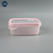 Cute Pink Clear Food Storage Crisper Snack Container For Kids