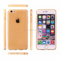 Wholesale cheap price clear shining tpu case for iphone 6/6 plus