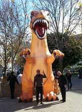 25ft aninals Giant Inflatable Triceratops dinosaur exact replicate dinosaur inflatable