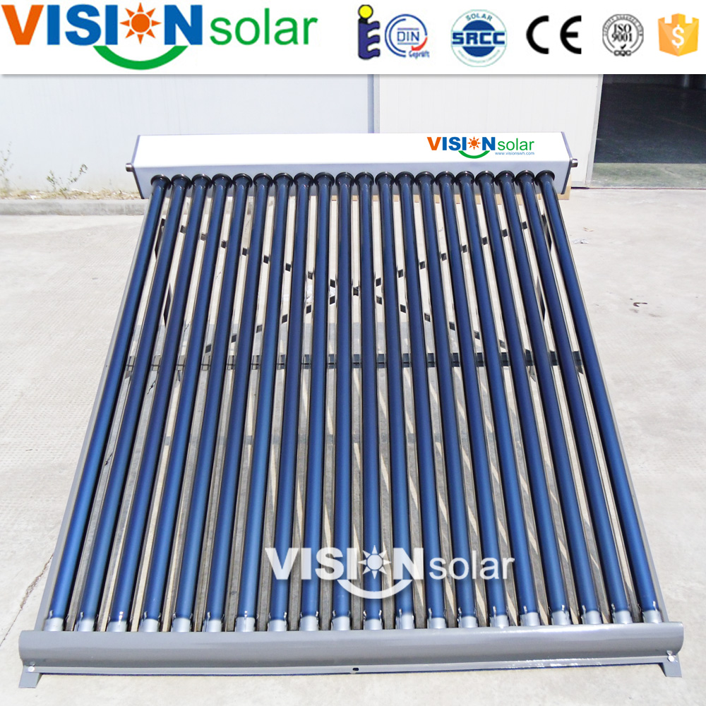 Economical Vacuum glass 18Tube Solar Collector Price