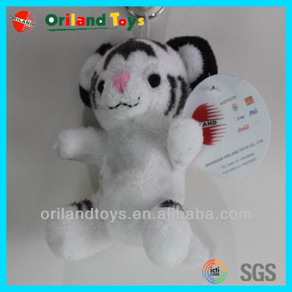 High Quality Low Price Plush Tiger Keychain for promotion