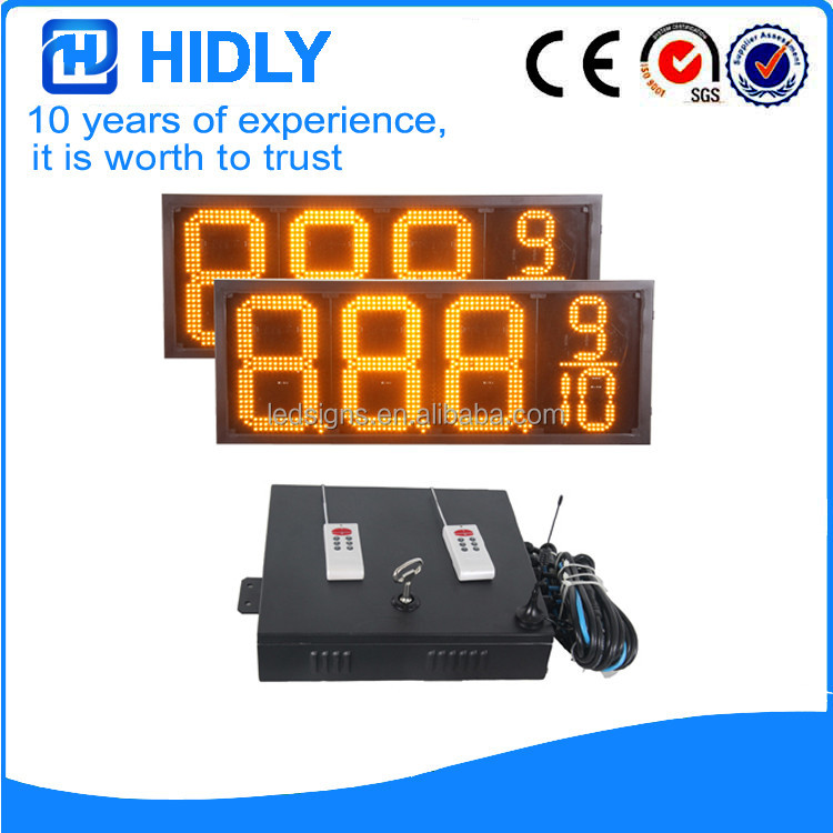 LED Display Facory Custom Gas station led display screen