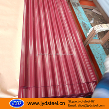 Prepainted galvalume steel sheet for roofing / PPGL roofing sheets Philippines