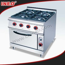 Commercial Gas Range With 4-Burner & Oven/Gas Range Oven/Gas Range With 4 Burner & Oven