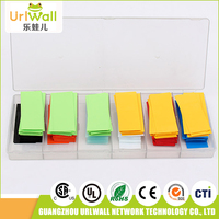 factory direct high temperature wire shrinkable insulation sleeving kit heat shrink tube