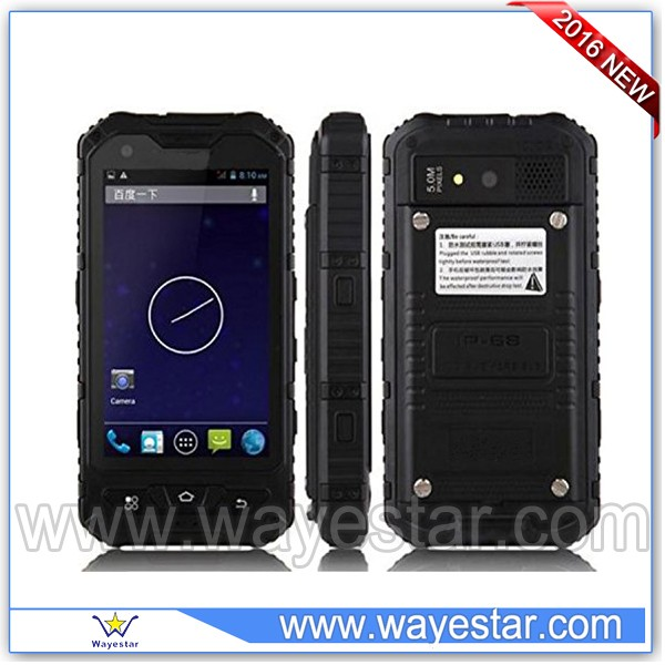 Hot selling A8+ waterproof ip 68 rugged smart mobile phone