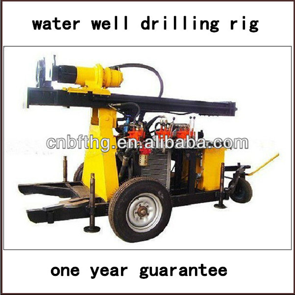 portable water well drilling rig for sale 80m,100m,120m,150,180m,200m
