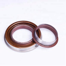 NBR/FKM/Silicone axle shaft/crankshaft metal case oil seal ring