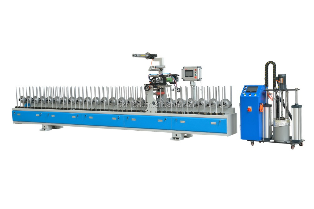 SKR-300 PUR Coating machine for PVC profile&pipe wrapping