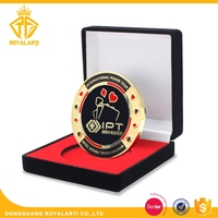 High Quality Metal Casino Challenge Coin