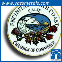 cloisonn lapel pins enciantas chamber of commerce