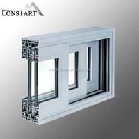 aluminium profile extrusion price for middle east market aluminum up down sliding window high density foam blocks