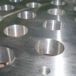 Aluminum rib - web forging parts