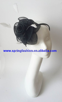 Gorgeous and Vintage Race Party Day fascinator on headband